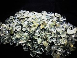 画像1: ブラジル産 極上水晶さざれ  L〜LLサイズ(ミックス)さざれ 500g 1kg 3Kg 激安特価